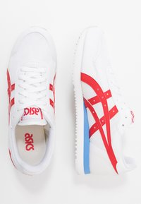 ASICS SportStyle - TIGER RUNNER - Trainers - white/classic red - 1