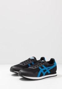 ASICS SportStyle - TIGER RUNNER - Sneaker low - black/electric blue - 2