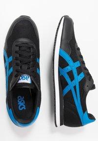 ASICS SportStyle - TIGER RUNNER - Sneaker low - black/electric blue - 1