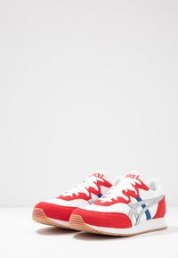 ASICS SportStyle - TARTHER - Trainers - white/classic red - 2
