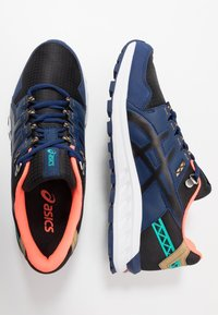 ASICS SportStyle - GEL-CITREK - Trainers - black/blue expanse - 1