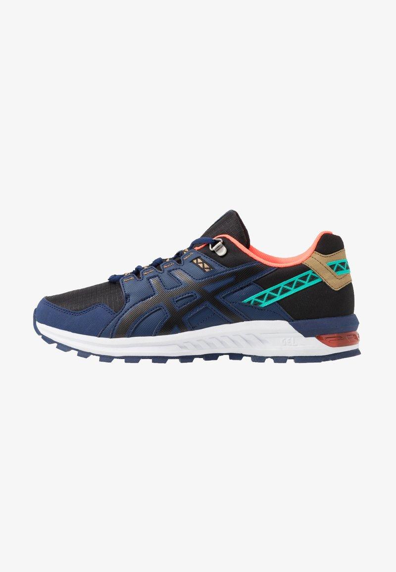 ASICS SportStyle - GEL-CITREK - Trainers - black/blue expanse