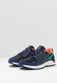 ASICS SportStyle - GEL-CITREK - Trainers - black/blue expanse - 2