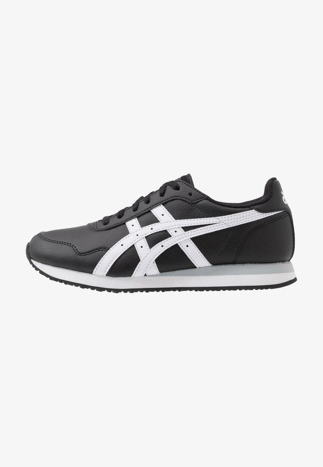 TIGER RUNNER - Trainers - black/white