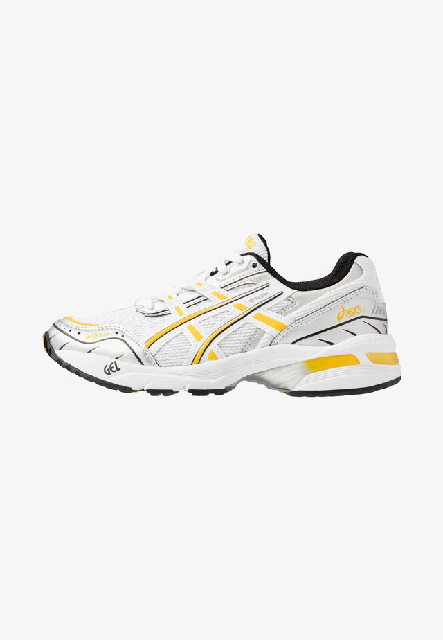 GEL-1090 - Joggesko - white/saffron