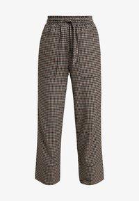 And Less - MALENA PANTS - Spodnie materiałowe - caviar - 4
