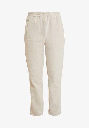 HAINA PANTS - Spodnie materiałowe - white alyssum