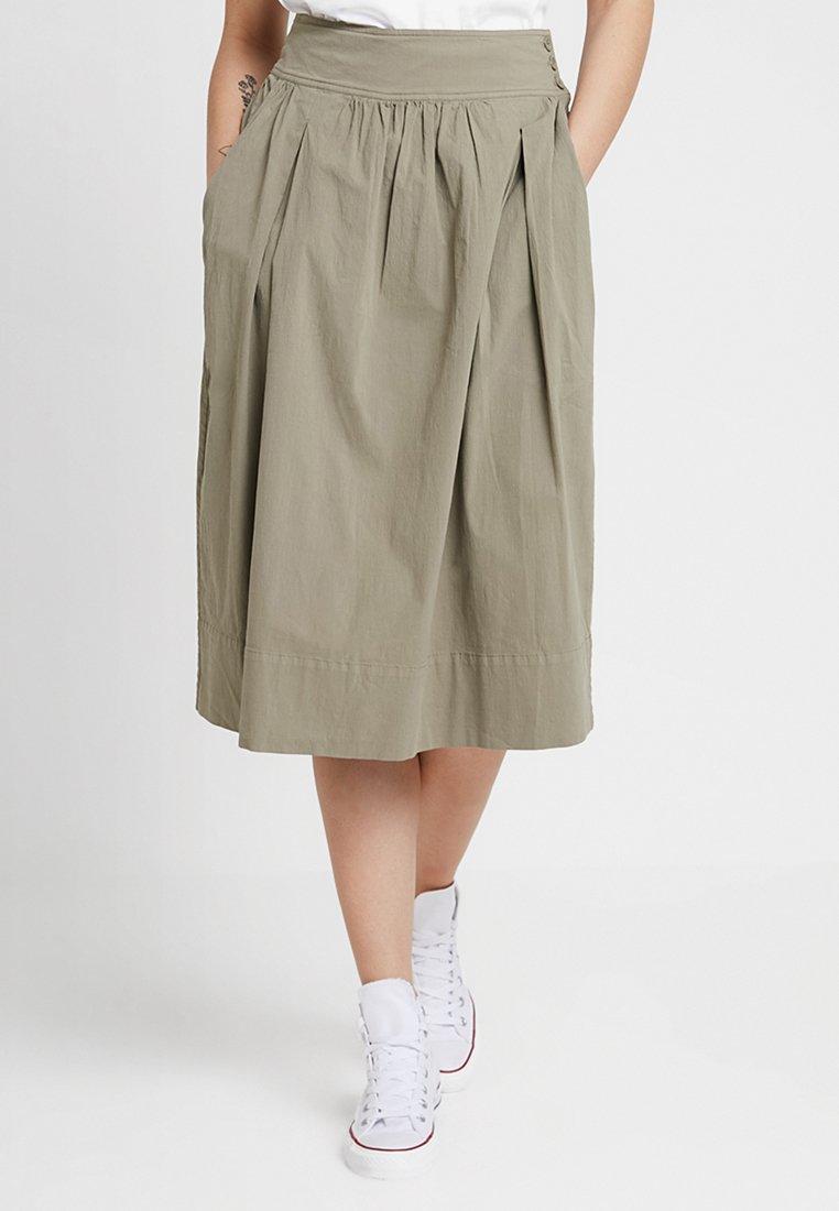 And Less - IMOLA SKIRT - A-line skirt - vetiver