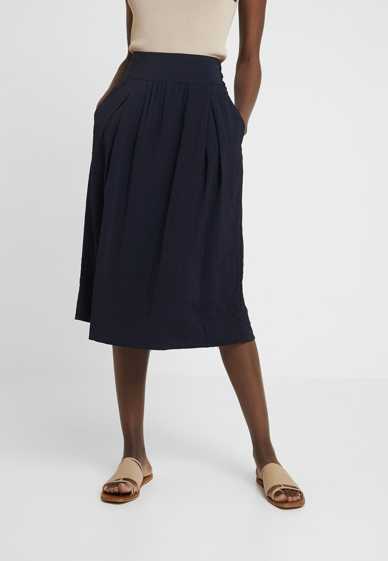 And Less - IMOLA SKIRT - A-linjainen hame - blue night