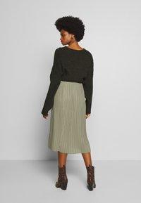 And Less - ALABBYGAIL SKIRT - A-line skirt - vetiver - 2