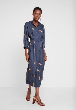 ALBERTINO DRESS - Košilové šaty - navy
