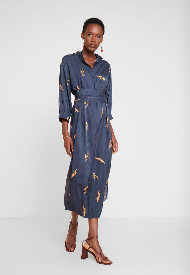 ALBERTINO DRESS - Shirt dress - navy