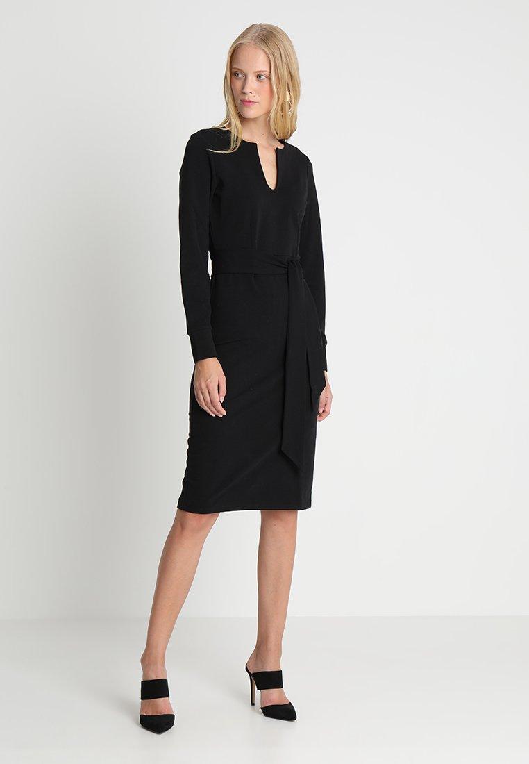 And Less Robe en jersey - noir black