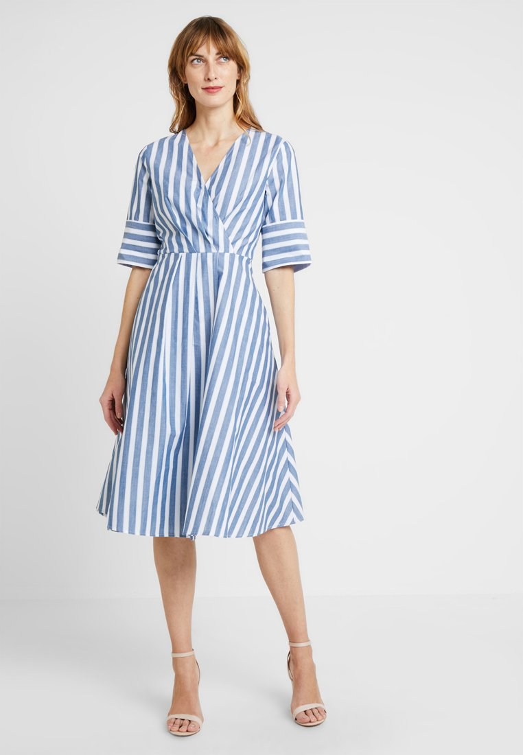 And Less - SANTE DRESS - Day dress - blue