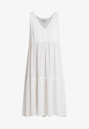 TELMA DRESS - Denní šaty - white allysum