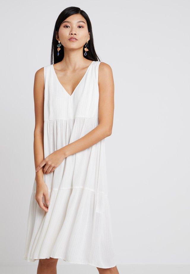 TELMA DRESS - Day dress - white allysum