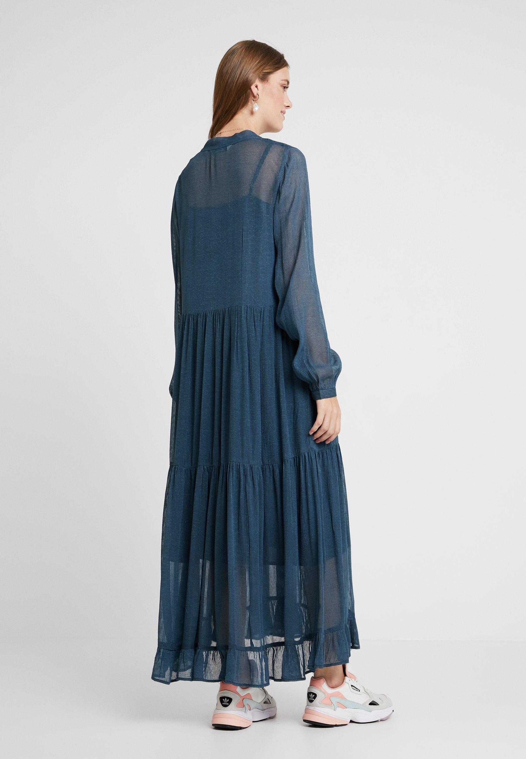 And DressRobe Longue Less Blue Pancra Orion rdBoQCWxe