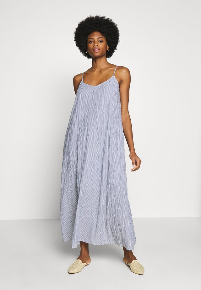 SHELA DRESS - Maxi-jurk - blue nights