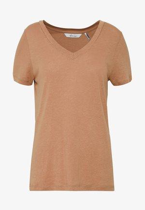 ALORSINO - T-shirt basique - mocha mou
