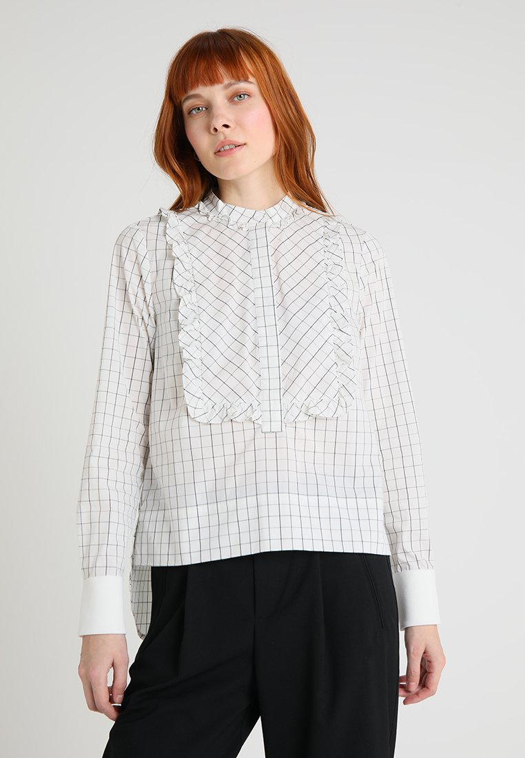 And Less - ANDINO BLOUSE - Blůza - off-white
