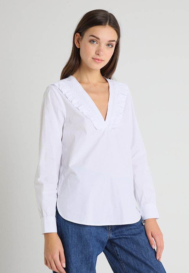 LUCIE BLOUSE - Bluse - white