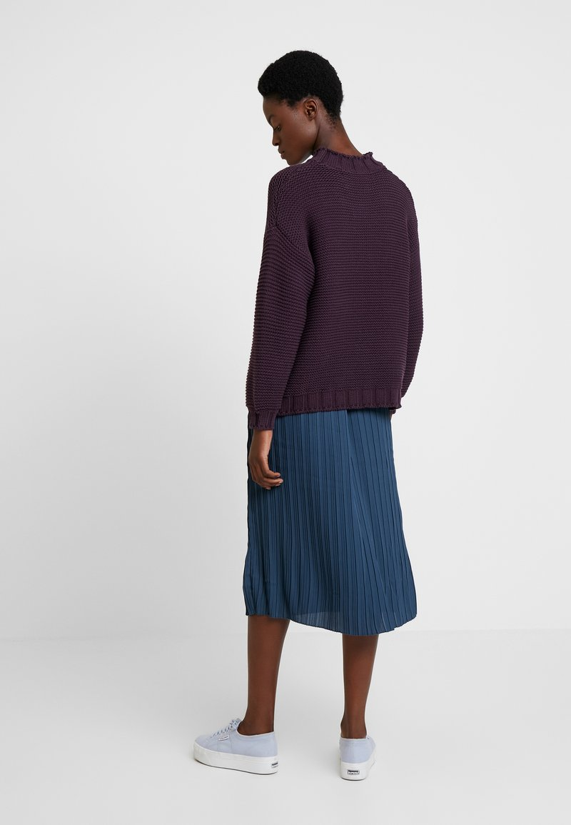 And Less - NEW RAIMONDO - Strickpullover - plum perfect