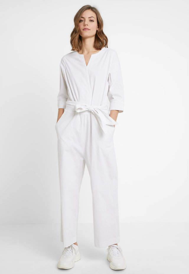 ALONZO - Jumpsuit - brilliant white