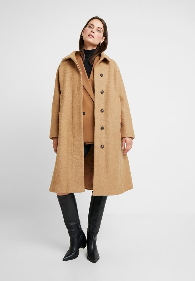 ALELEN - Classic coat - toasted coconut
