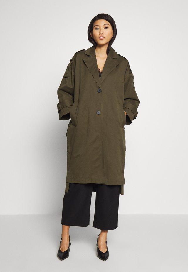 ALMAA JACKET - Classic coat - ivy green