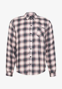 Another Influence - LONGSLEEVED CHECK SHIRT - Skjorta - blue/pink - 4