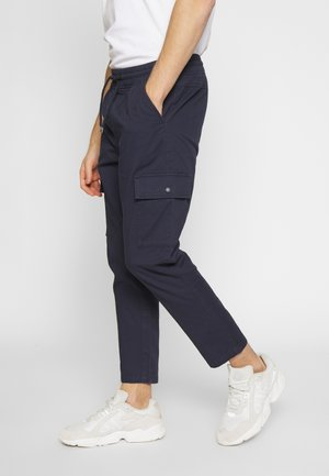 UTILITY CARGO PANTS - Cargo trousers - navy