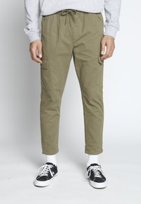 Another Influence - UTILITY CARGO PANTS - Cargobroek - khaki - 0