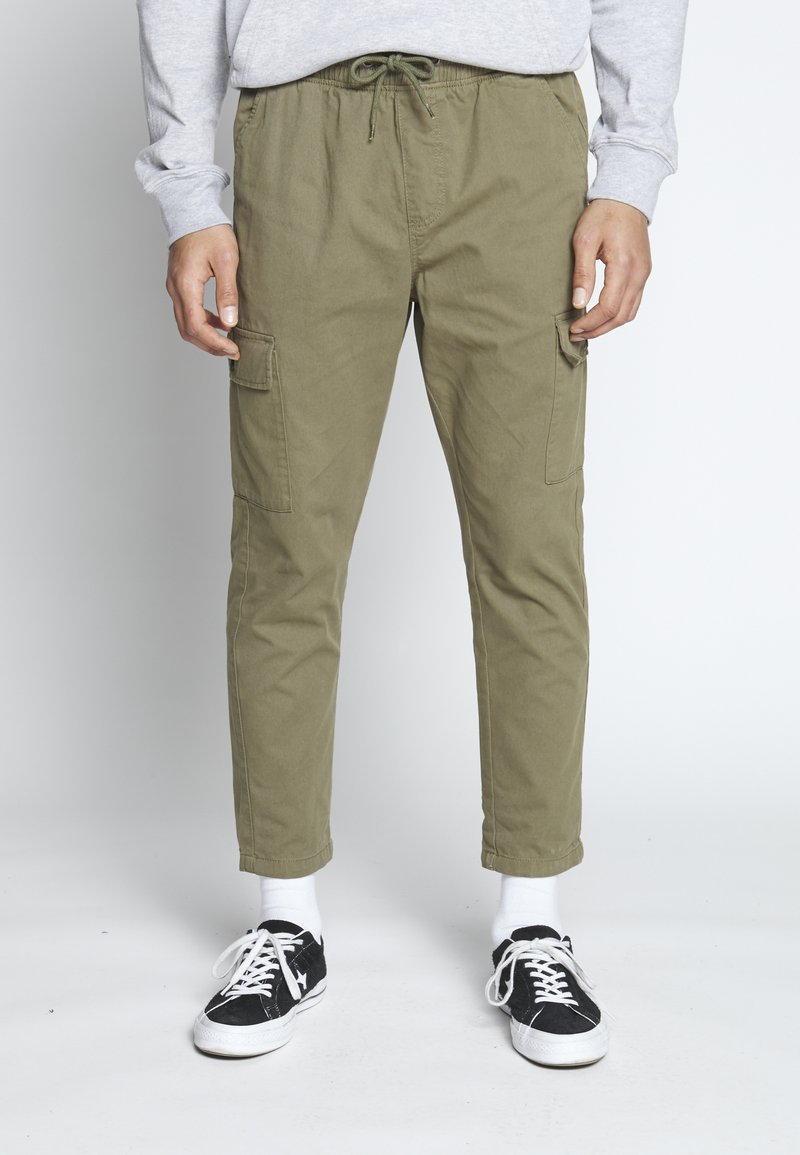 Another Influence - UTILITY CARGO PANTS - Cargobroek - khaki