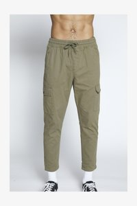 Another Influence - UTILITY CARGO PANTS - Cargobroek - khaki - 3