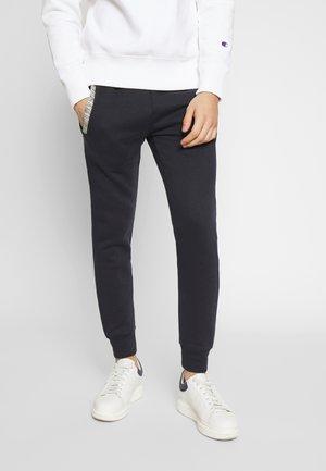 SLIM JOGGERS  - Teplákové kalhoty - navy