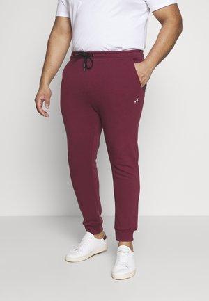 Teplákové kalhoty - burgundy