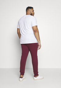 Another Influence - Tracksuit bottoms - burgundy - 2
