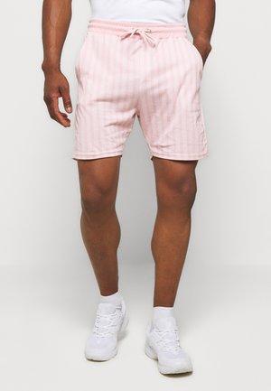 VERTICAL STRIPE - Shorts - pink/white