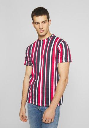 VERTICAL STRIPE - Print T-shirt - multi