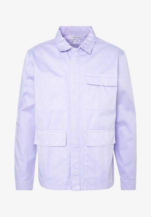 WORKER JACKET - Denim jacket - light lilac