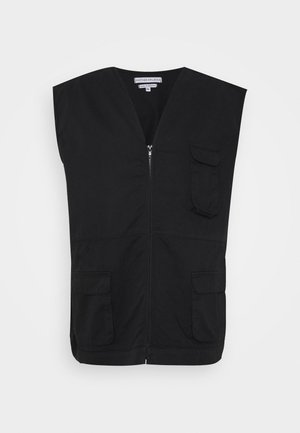 ANOTHER INFLUENCE PLUS UTILITY VEST  - Chaleco - black