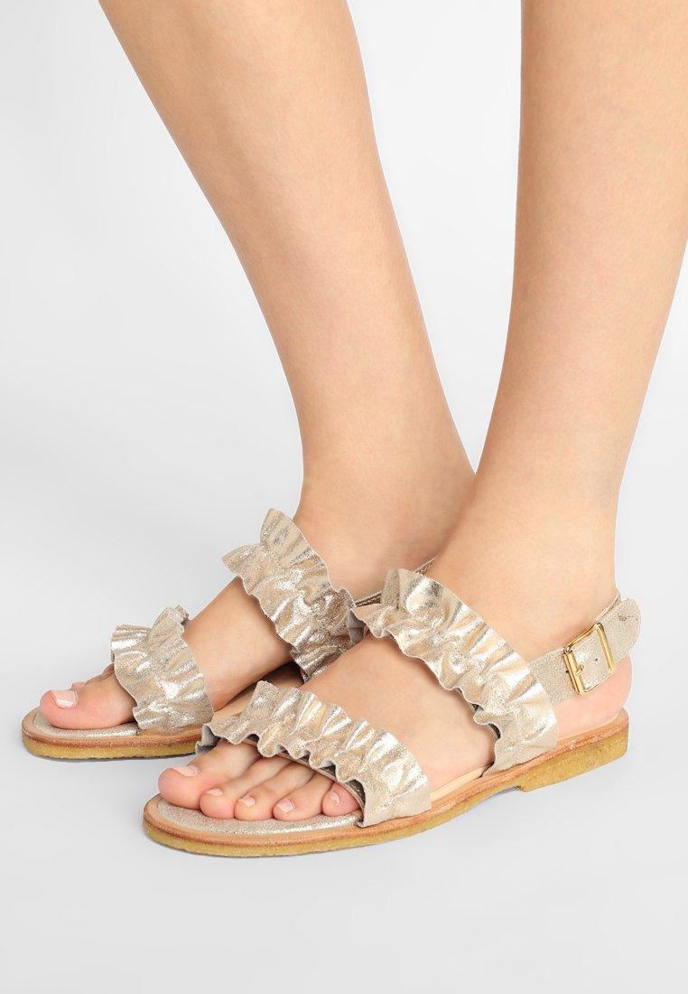 ANGULUS - Sandals - silver glitter