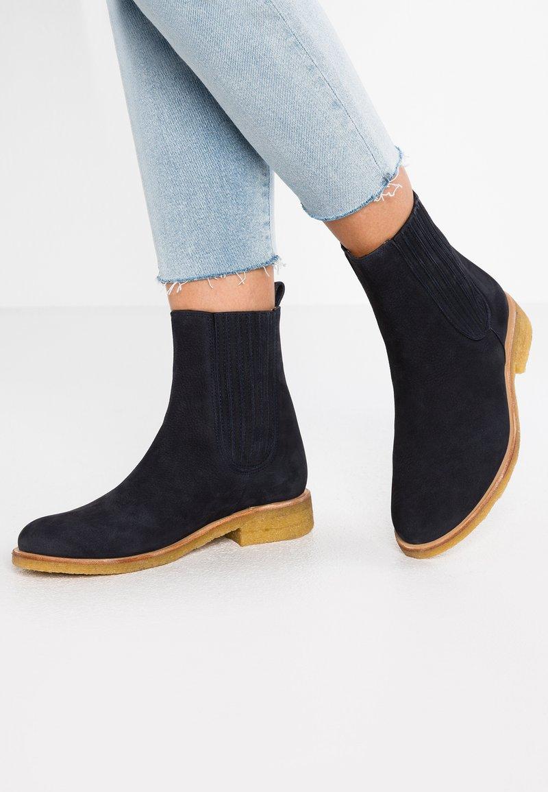 ANGULUS - Classic ankle boots - evora blue