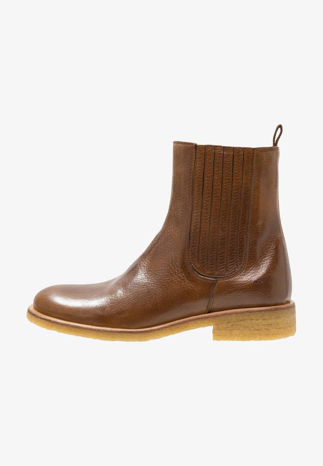 Bottines - medium brown