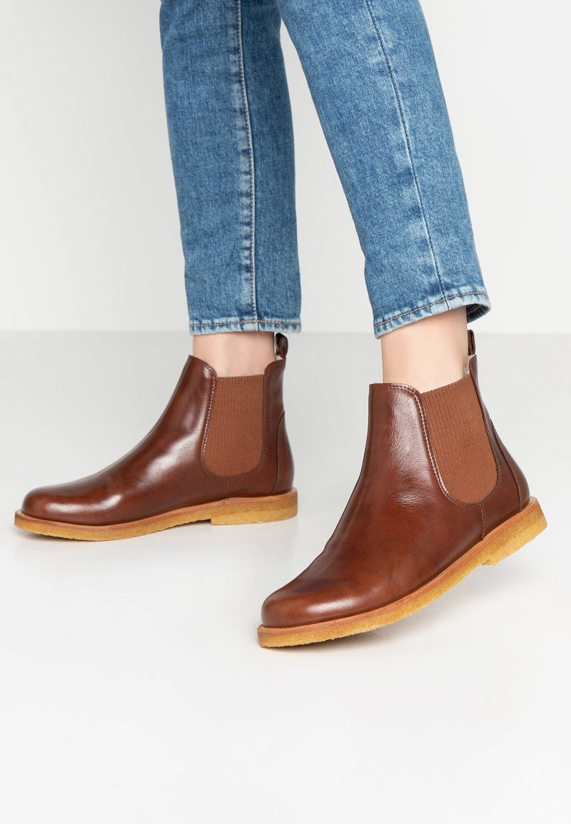 ANGULUS - Ankle boot - sierra