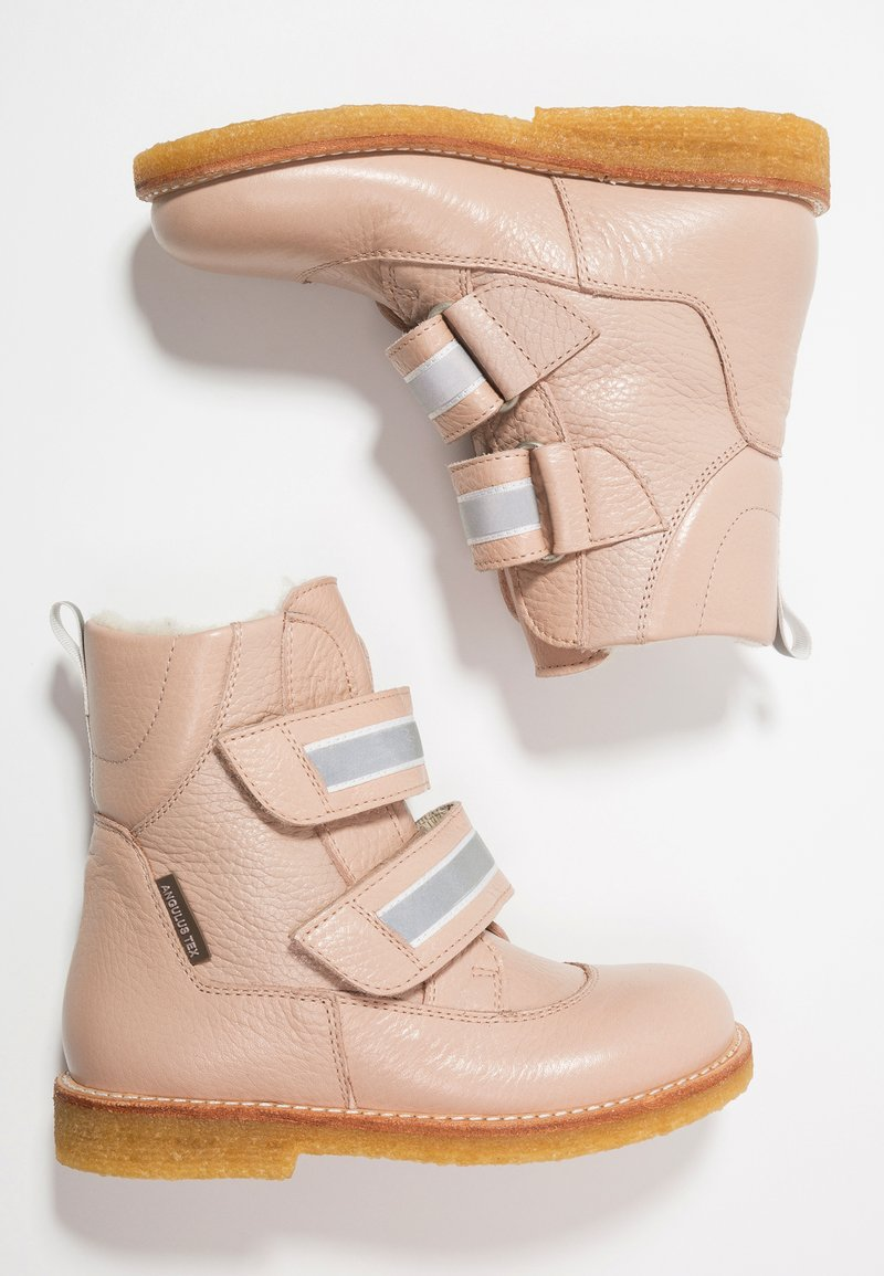 ANGULUS - TEX-BOOT VELCRO STRAPS - Classic ankle boots - powder