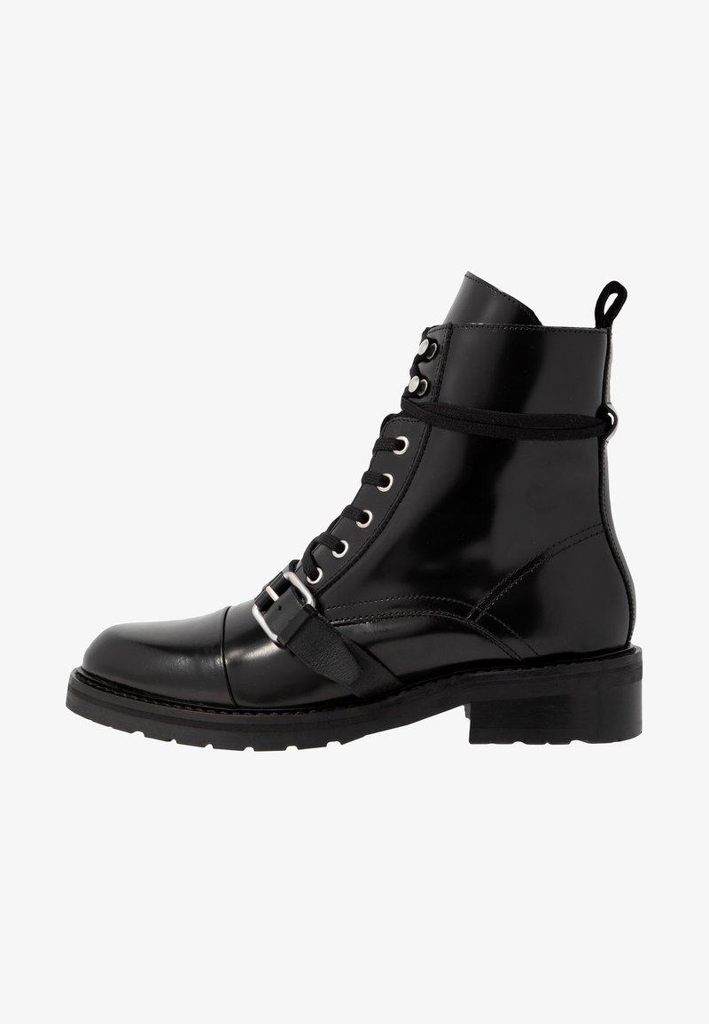 AllSaints - DONITA - Cowboy/biker ankle boot - black