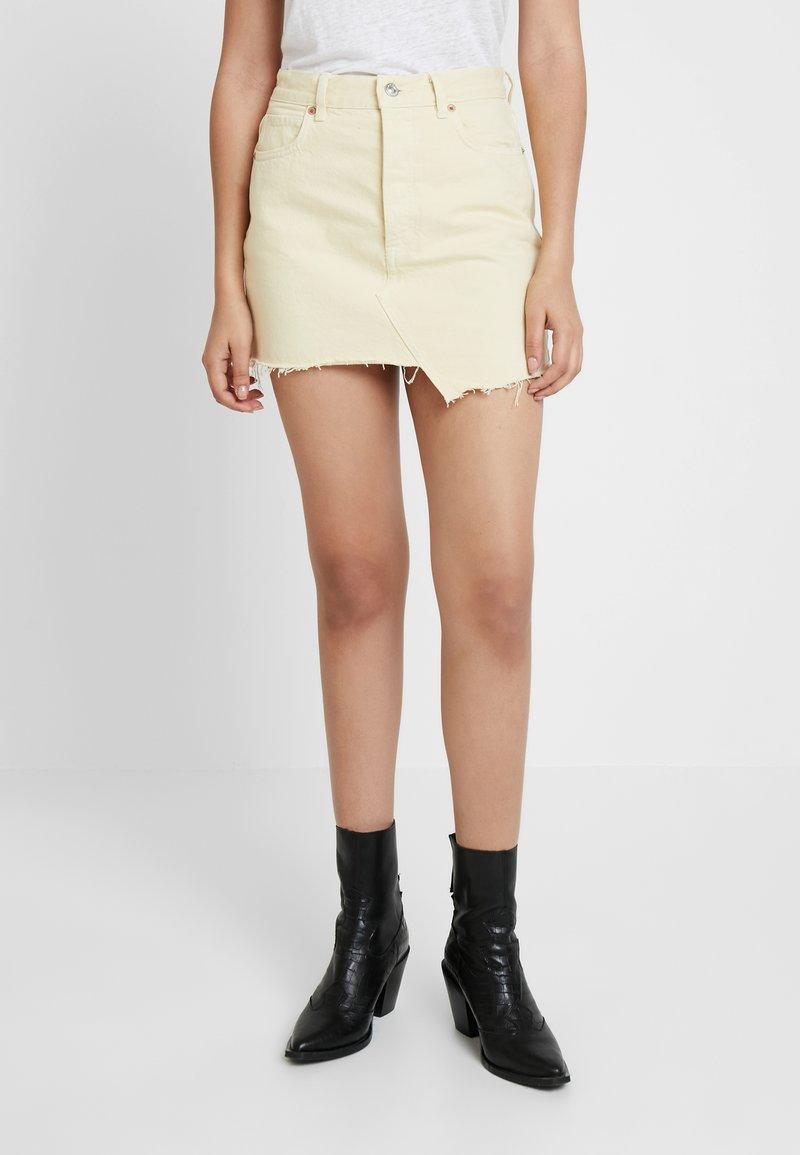 AllSaints - MAI SKIRT - Áčková sukně - yellow