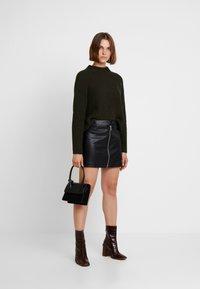 AllSaints - LENA SKIRT - Minisukně - black - 1