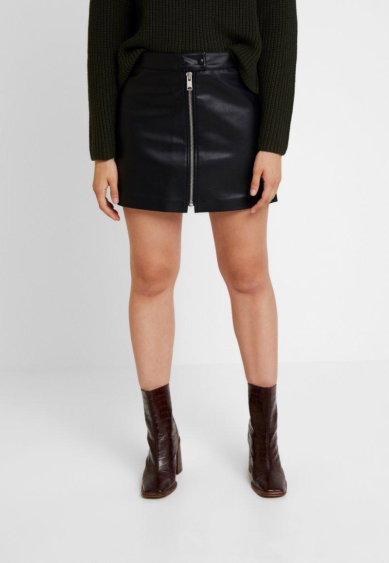 AllSaints - LENA SKIRT - Minigonna - black